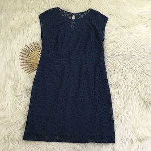 Adrianna Papell Plus Size Lace Sheath Dress